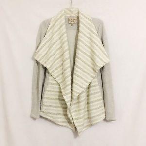 Lucky Brand Waterfall Open Drape Cardigan Size XS
